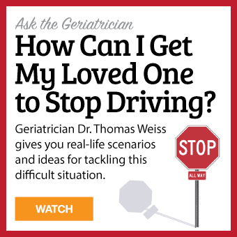 How can I get my loved one to stop driving?