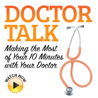 How to make the most of your 10 minute doctor appointment.